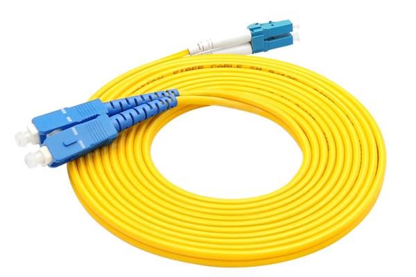 感闻电信级光纤跳线sc-lc单模双芯网络光纤线光纤延长线3米