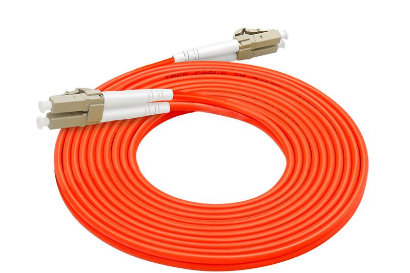 感闻多模双芯LC-LC光纤跳线 光纤尾纤 光纤线 3米