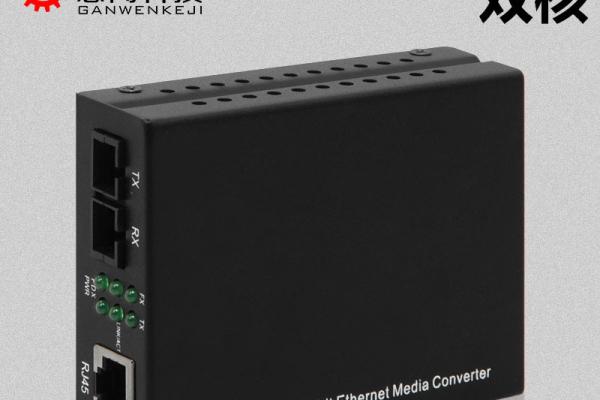 感闻 百兆多模双纤光纤收发器SC光电转换器一台2KM 不丢包不卡顿