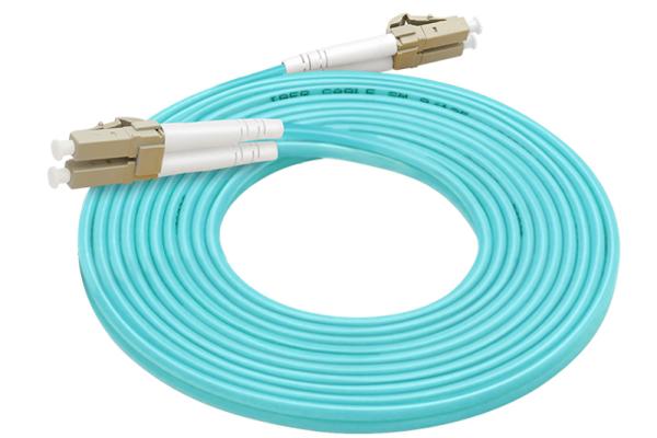 感闻万兆LC-LC光纤跳线多模双纤3米光纤线光钎接头 光纤尾纤